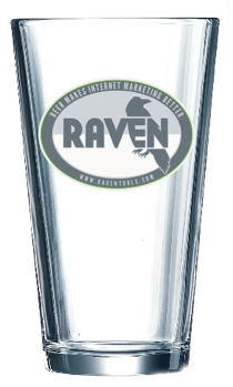 Raven Tools Pint Glasses