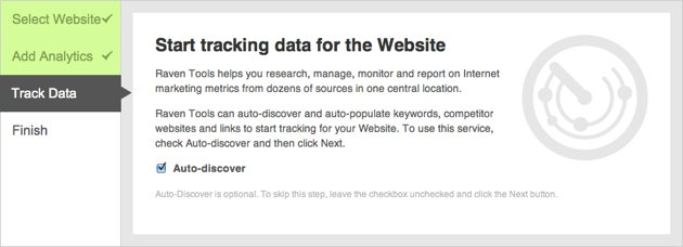 Auto-discover Website Data