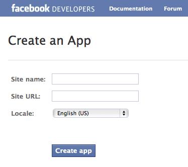 Create Facebook App