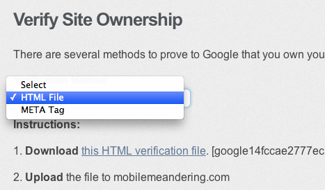 Verify Site