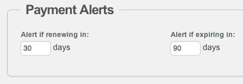Paid Link Alert Threshold