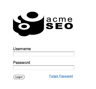 Raven Logo on Login Page
