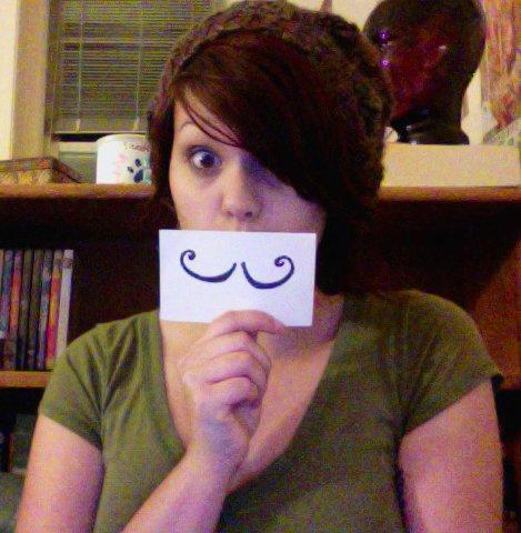 Madelynn Martinière mustache