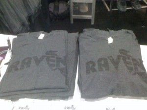 Get yo' self a Raven T-shirt