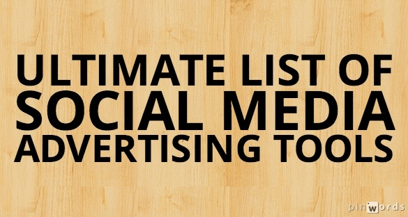 Ultimate list of social media advertising tools