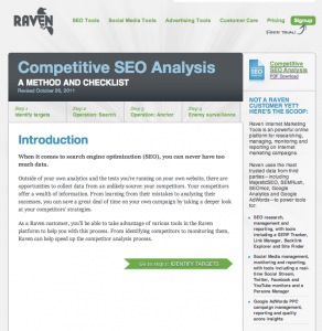 Competitive SEO Analysis Guide