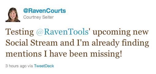 raven-social-stream-management