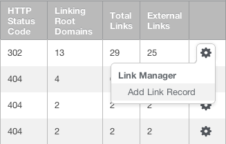 Add Link to Link Manager