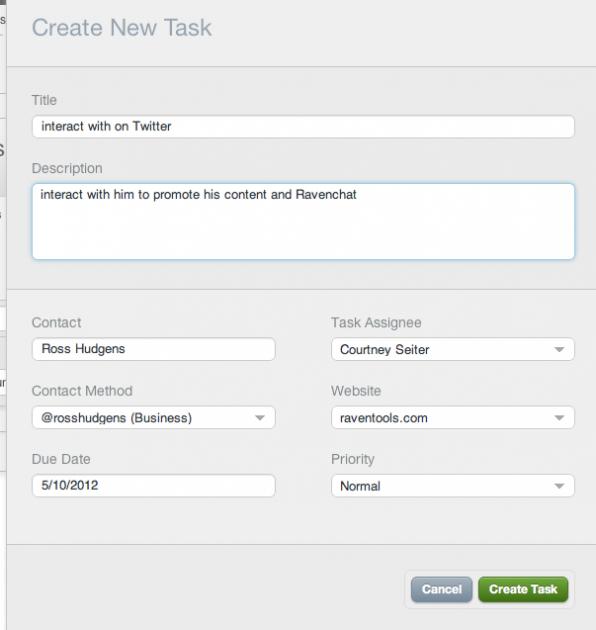 CRM-social-tasks