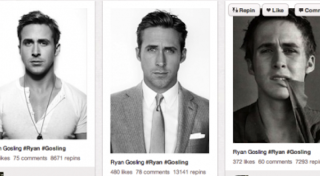 Ryan Gosling Pinterest