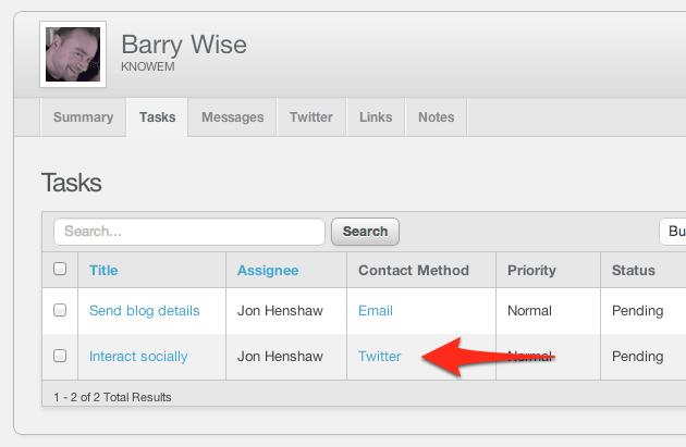 Twitter Social Task