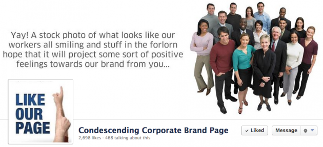 condescending-corporate-brand-page