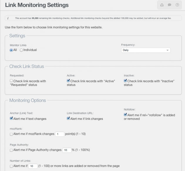 link-monitoring-settings