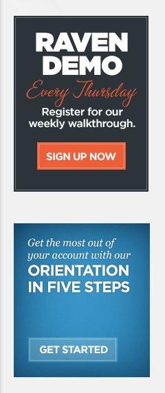 Raven Walkthrough Webinar and Trial Orientation Series