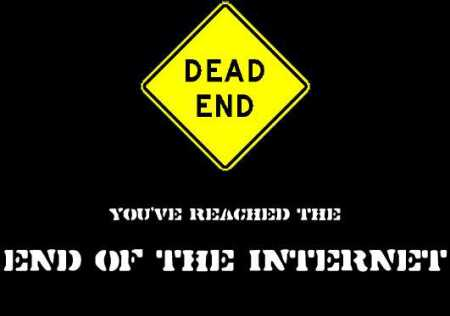 end-of-the-Internet