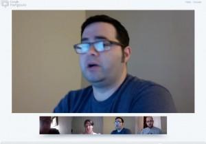 Jeff, mid-Hangout