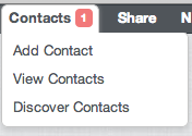 Chrome-Toolbar-contact-options