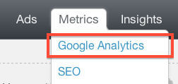 metrics google analytics