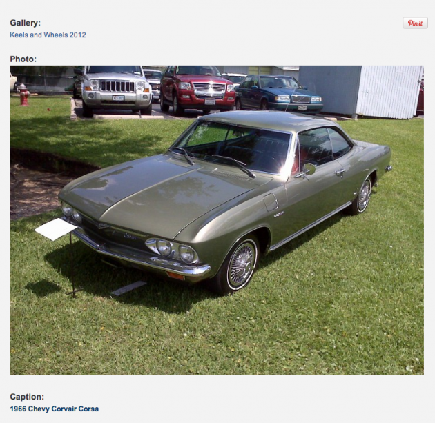 corvair at keels - Google SERP