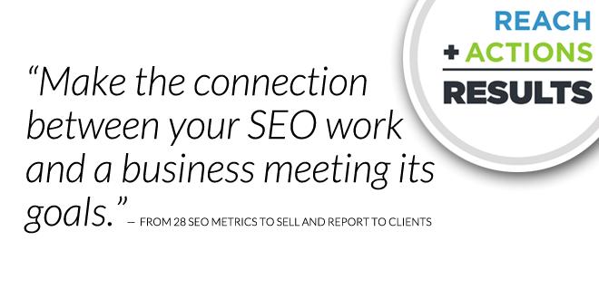Focus on the SEO metrics that matter