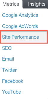 Metrics-Site-Performance