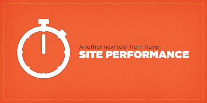 New feature: Site Performance
