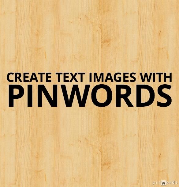 Pinwords