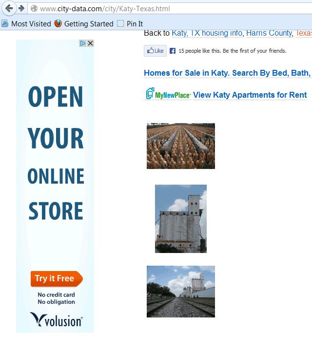 Volusion Remarketing Ad