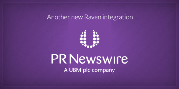 PR Newswire iReach Raven Integration