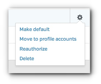 Twitter - Move to Profile Accounts