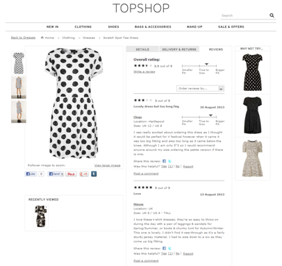 Topshop-reviews