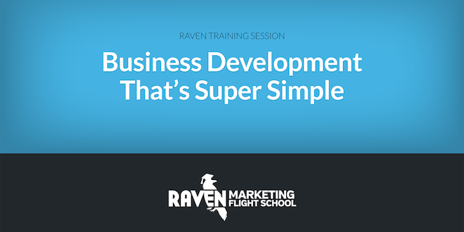 Business Development That's Super Simple