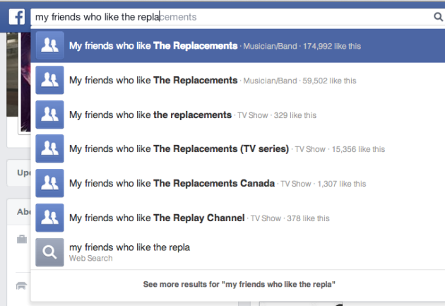 facebook-graph-search example