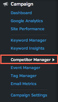 competitor manager
