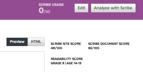 scribe-analysis