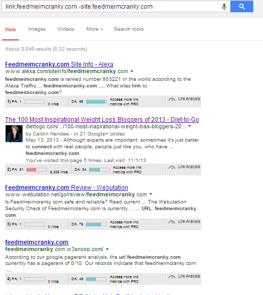 branded mentions - Google SERP