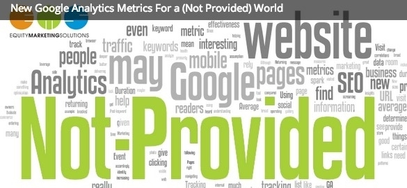 New Google Analytics metrics for a (not provided) world