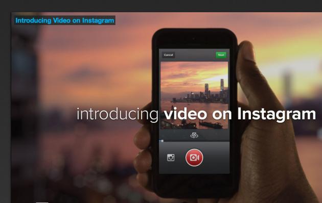 Instagram adds video