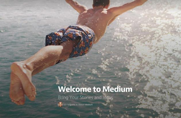 Blogging platform Medium launches to the public