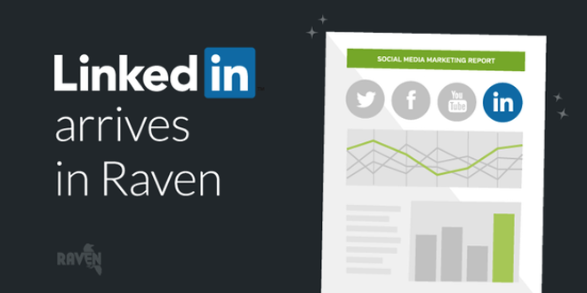 LinkedIn Marketing Arrives in Raven