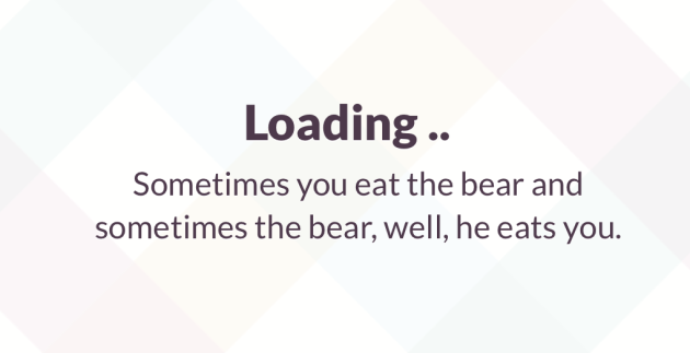 Slack Loading Messages