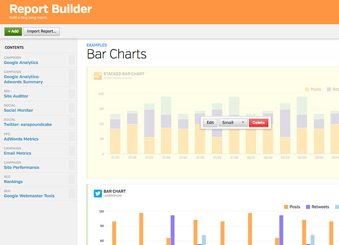WYSIWYG Report Builder