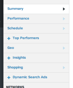 AdWords Metrics now includes Google Shopping data.