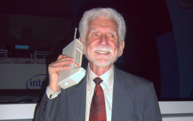Dr. Martin Cooper, the inventor of the cell phone