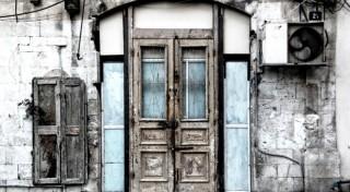 Front Door of Old Home