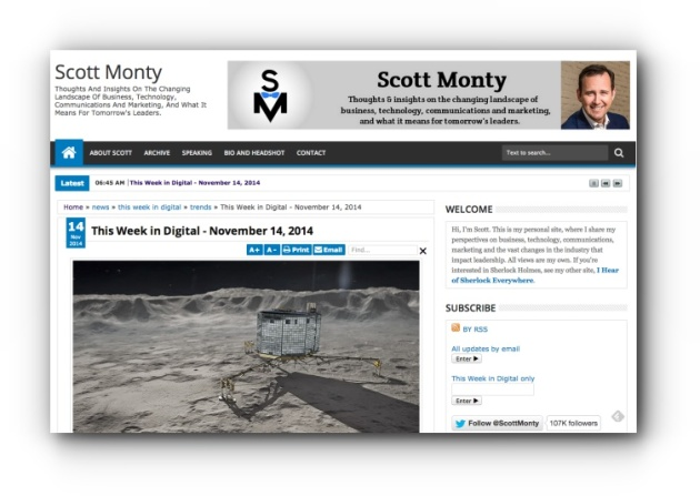 Scott Monty - Week in Digital