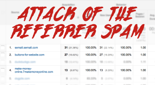 Attack of the Referrer Spam