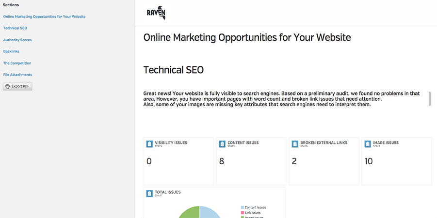 Build Beautiful Marketing Proposals in Raven Raven Blog – Seo Proposal Template
