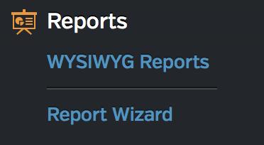 Reporting Nav