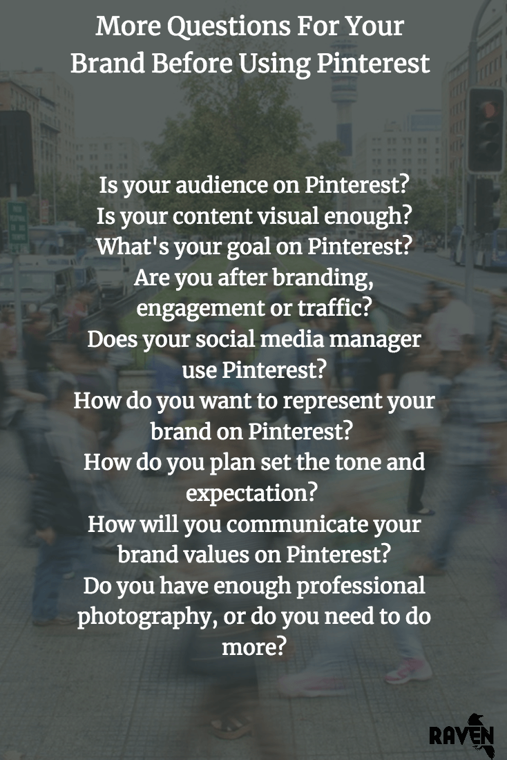 More Pinterest questions for brands